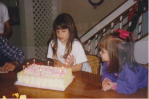 My 9th Birthday. This is as old as I can go with the pictures. They're painfully awkward after this.
