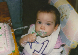 I loved cake from the very beginning.